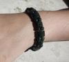 Bracelet héliotrope (jaste sanguine)